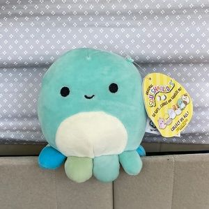 """SQUISHMALLOW ZOBEY THE OCTOPUS BRAND NEW 5"""""""